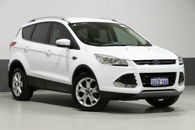 Used Ford Kuga TF MK 2 Trend (AWD), 2016 Ford Kuga TF MK 2 Trend (AWD) White 6 Speed Automatic Wagon