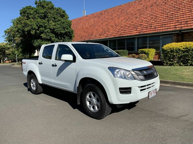 Used Isuzu D-MAX MY15.5 SX, 2016 Isuzu D-MAX MY15.5 SX White 5 Speed Automatic Dual Cab