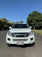 2016 Isuzu D-MAX MY15.5 SX White 5 Speed Automatic Dual Cab.