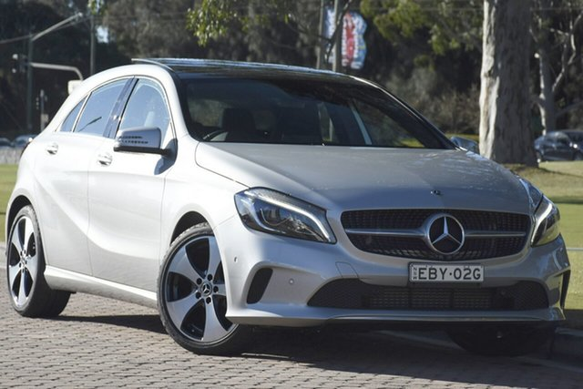 Used Mercedes-Benz A200 W176 808MY D-CT, 2017 Mercedes-Benz A200 W176 808MY D-CT Silver 7 Speed Sports Automatic Dual Clutch Hatchback
