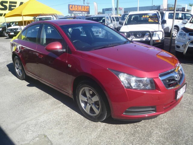 Used Holden Cruze JG CD, 2010 Holden Cruze JG CD Red 6 Speed Sports Automatic Sedan