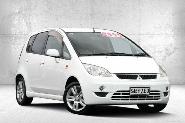 Used Mitsubishi Colt RG MY08 VR-X, 2008 Mitsubishi Colt RG MY08 VR-X White 1 Speed Constant Variable Hatchback
