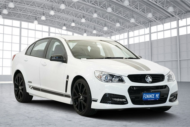 Used Holden Commodore VF MY14 SS Collingwood Edition, 2014 Holden Commodore VF MY14 SS Collingwood Edition White 6 Speed Sports Automatic Sedan
