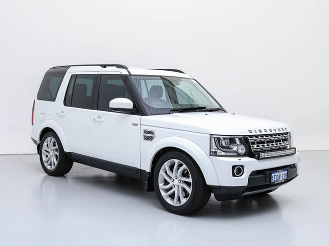 Used Land Rover Discovery MY15 3.0 SDV6 HSE, 2014 Land Rover Discovery MY15 3.0 SDV6 HSE White 8 Speed Automatic Wagon
