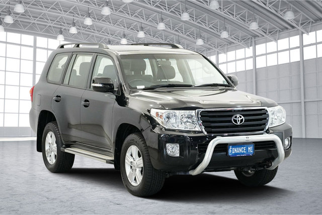 Used Toyota Landcruiser VDJ200R MY12 Altitude, 2012 Toyota Landcruiser VDJ200R MY12 Altitude Black 6 Speed Sports Automatic Wagon