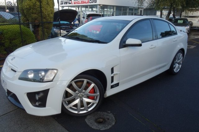 Used Holden Special Vehicles ClubSport E Series MY09 R8, 2008 Holden Special Vehicles ClubSport E Series MY09 R8 White 6 Speed Sports Automatic Sedan