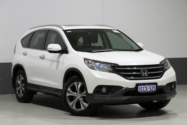 Used Honda CR-V 30 VTi-L (4x4), 2013 Honda CR-V 30 VTi-L (4x4) White 5 Speed Automatic Wagon