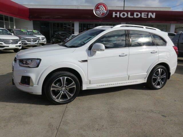 Used Holden Captiva CG MY17 LTZ AWD, 2016 Holden Captiva CG MY17 LTZ AWD White 6 Speed Sports Automatic Wagon