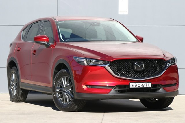 Demo Mazda CX-5 KF4WLA Touring SKYACTIV-Drive i-ACTIV AWD, 2018 Mazda CX-5 KF4WLA Touring SKYACTIV-Drive i-ACTIV AWD Soul Red Crystal 6 Speed Sports Automatic