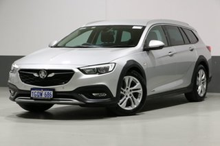 2018 Holden Calais ZB Tourer Nitrate Silver 9 Speed Automatic Sportswagon.