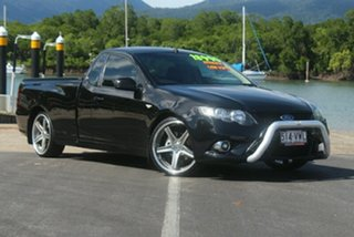 2011 Ford Falcon FG XR6 Ute Super Cab Li Black 6 Speed Semi Auto Utility.