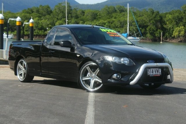 Used Ford Falcon FG XR6 Ute Super Cab Limited Edition, 2011 Ford Falcon FG XR6 Ute Super Cab Li Black 6 Speed Semi Auto Utility