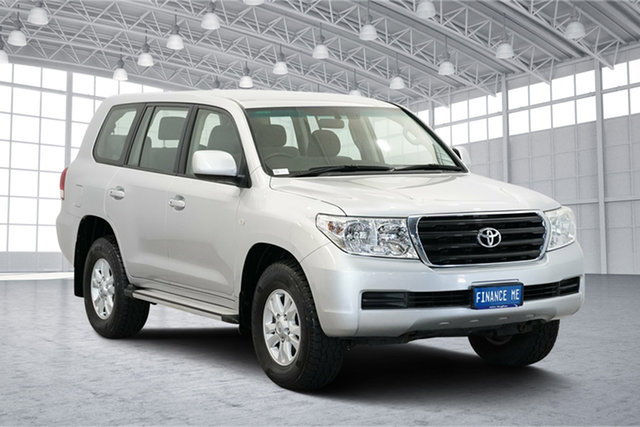 Used Toyota Landcruiser VDJ200R MY10 GXL, 2012 Toyota Landcruiser VDJ200R MY10 GXL Silver & Chrome 6 Speed Sports Automatic Wagon