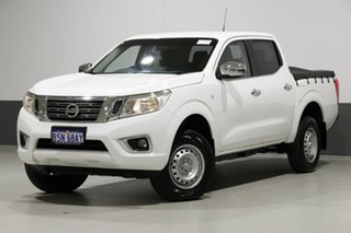 2016 Nissan Navara D23 Series II RX (4x4) White 6 Speed Manual Double Cab Chassis.