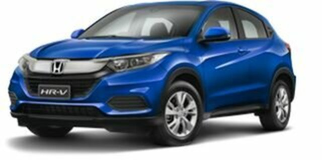 Demo Honda HR-V MY19 VTi, 2019 Honda HR-V MY19 VTi Brilliant Sporty Blue 1 Speed Constant Variable Hatchback