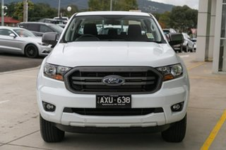 2018 Ford Ranger PX MkIII 2019.00MY XLS Pick-up Double Cab White 6 Speed Sports Automatic Utility.