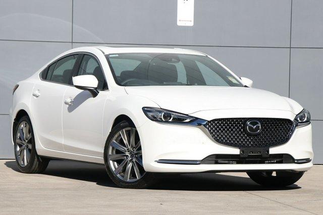 New Mazda 6 GL1032 Atenza SKYACTIV-Drive, 2019 Mazda 6 GL1032 Atenza SKYACTIV-Drive Snowflake White 6 Speed Sports Automatic Sedan