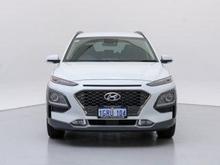 2018 Hyundai Kona OS.2 MY19 Elite (FWD) Chalk White 6 Speed Automatic Wagon.