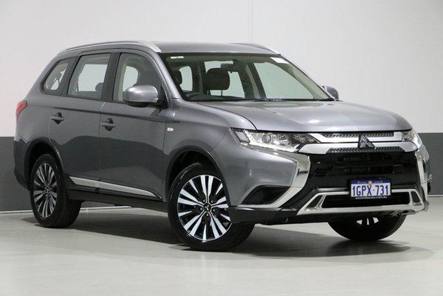 Used Mitsubishi Outlander ZL MY19 LS 7 Seat (AWD), 2018 Mitsubishi Outlander ZL MY19 LS 7 Seat (AWD) Grey Continuous Variable Wagon