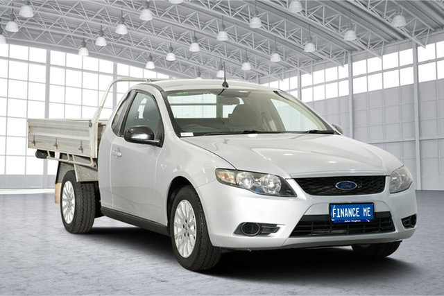 Used Ford Falcon FG Super Cab, 2011 Ford Falcon FG Super Cab Silver 6 Speed Automatic Cab Chassis
