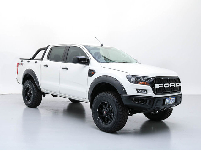 Used Ford Ranger PX MkII XL 2.2 (4x4), 2016 Ford Ranger PX MkII XL 2.2 (4x4) White 6 Speed Automatic Crew Cab Utility