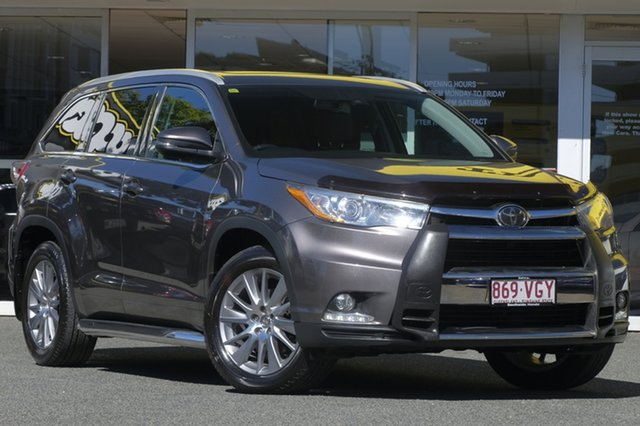 Used Toyota Kluger GSU55R Grande AWD, 2014 Toyota Kluger GSU55R Grande AWD Grey 6 Speed Sports Automatic Wagon