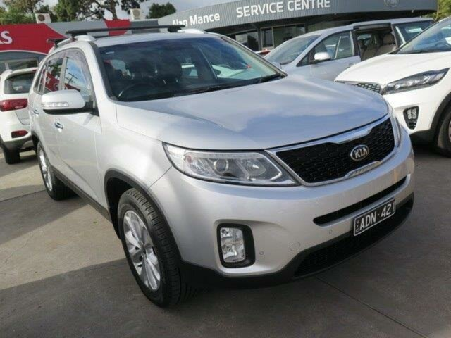 Used Kia Sorento XM MY14 SI, 2014 Kia Sorento XM MY14 SI Silver 6 Speed Sports Automatic Wagon