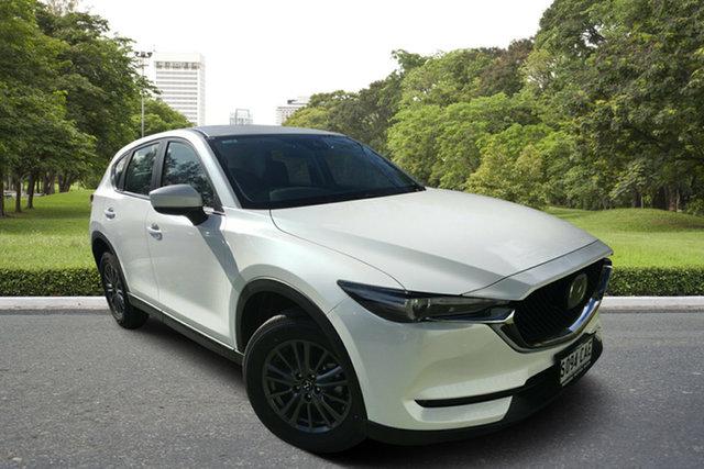 Demo Mazda CX-5 KF4WLA Maxx SKYACTIV-Drive i-ACTIV AWD Sport, 2019 Mazda CX-5 KF4WLA Maxx SKYACTIV-Drive i-ACTIV AWD Sport White Pearl 6 Speed Sports Automatic