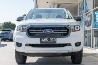 2018 Ford Ranger PX MkIII 2019.00MY XL 4x2 Hi-Rider White 6 Speed Sports Automatic Cab Chassis.