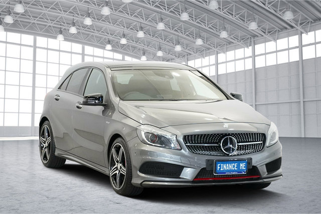 Used Mercedes-Benz A250 W176 806MY Sport D-CT 4MATIC, 2015 Mercedes-Benz A250 W176 806MY Sport D-CT 4MATIC Grey 7 Speed Sports Automatic Dual Clutch