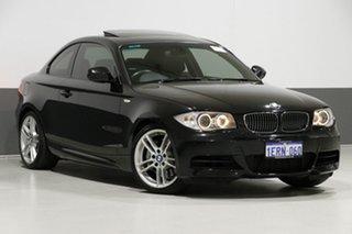 2010 BMW 135i E82 MY11 Sport Black 7 Speed Auto Dual Clutch Coupe.