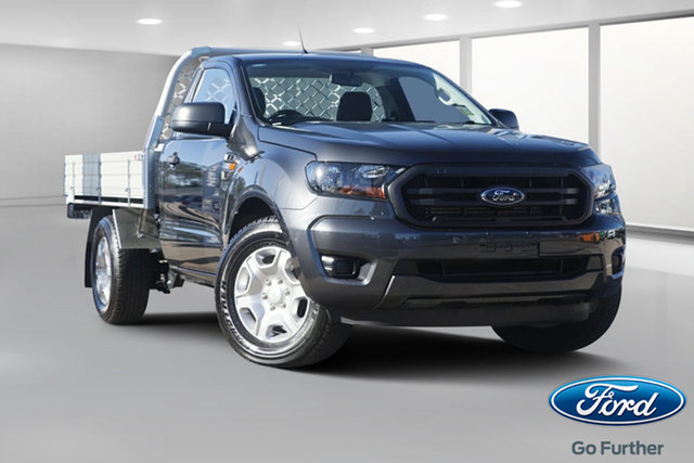 New Ford Ranger PX MkIII 2019.00MY XL 4x2, 2019 Ford Ranger PX MkIII 2019.00MY XL 4x2 Meteor Grey 6 Speed Manual Cab Chassis