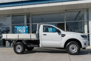 2018 Ford Ranger PX MkIII 2019.00MY XL 4x2 Hi-Rider White 6 Speed Sports Automatic Cab Chassis