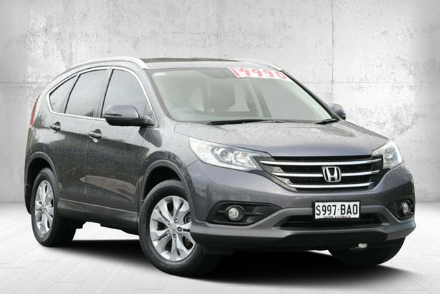 Used Honda CR-V RM MY15 VTi-S 4WD, 2014 Honda CR-V RM MY15 VTi-S 4WD Modern Steel 5 Speed Sports Automatic Wagon