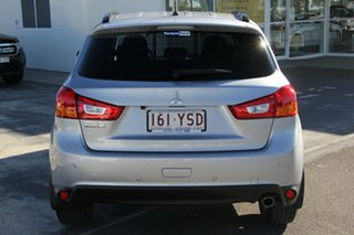 2015 Mitsubishi ASX XB MY15 LS 2WD Silver 6 Speed Constant Variable Wagon