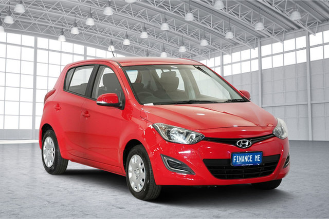 Used Hyundai i20 PB MY14 Active, 2013 Hyundai i20 PB MY14 Active Red 4 Speed Automatic Hatchback
