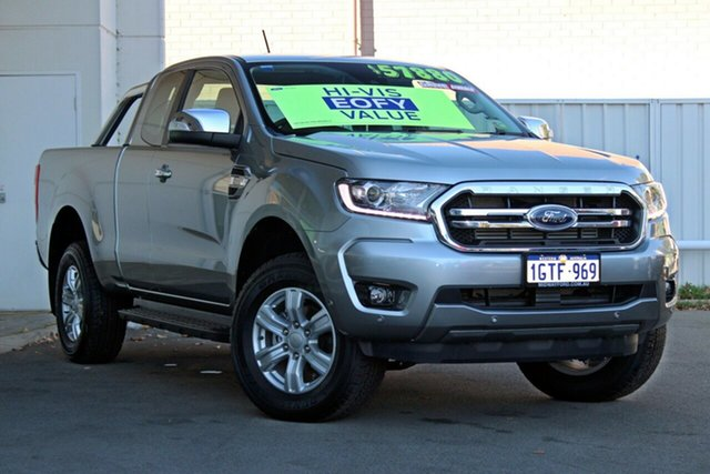 Demo Ford Ranger  XLT Pick-up Super Cab, 2018 Ford Ranger PX MKIII 2019.0 XLT Pick-up Super Cab Aluminium Silver 10 Speed Sports Automatic