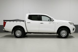 2016 Nissan Navara D23 Series II RX (4x4) White 6 Speed Manual Double Cab Chassis