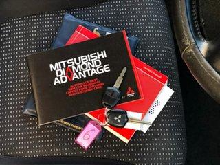 2010 Mitsubishi Triton MN MY10 GLX-R Double Cab Blue 5 Speed Manual Utility