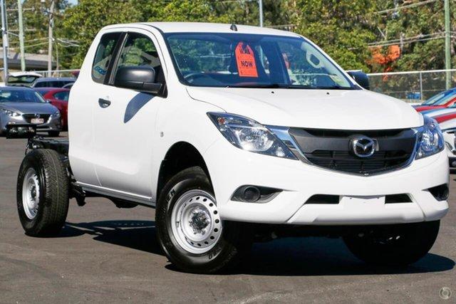 New Mazda BT-50 UR0YG1 XT, 2019 Mazda BT-50 UR0YG1 XT White 6 Speed Sports Automatic Cab Chassis