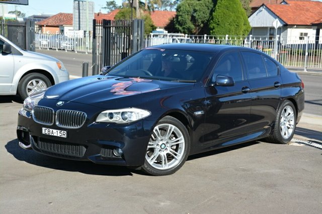 Used BMW 5 Series F10 MY11 528i Steptronic, 2011 BMW 5 Series F10 MY11 528i Steptronic Black 8 Speed Sports Automatic Sedan