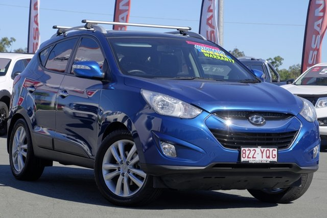 Used Hyundai ix35 LM MY11 Highlander AWD, 2011 Hyundai ix35 LM MY11 Highlander AWD Blue 6 Speed Sports Automatic Wagon