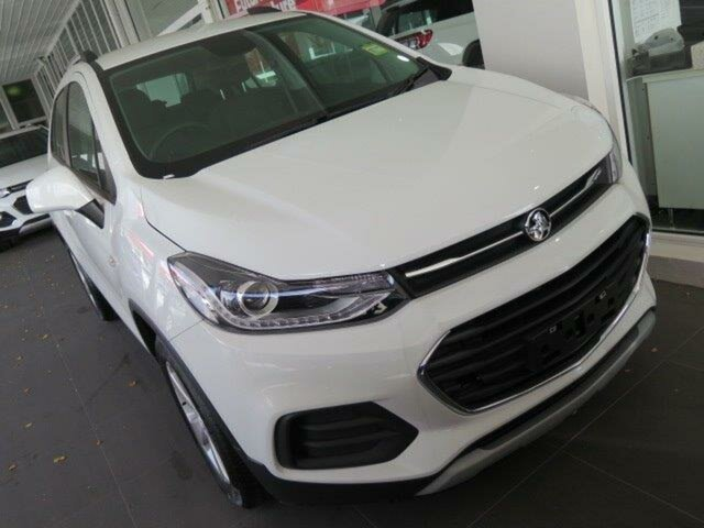 New Holden Trax TJ MY18 LS, 2018 Holden Trax TJ MY18 LS White 6 Speed Automatic Wagon