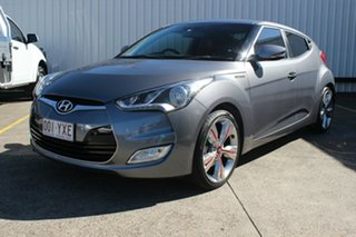 2013 Hyundai Veloster FS3 Street Coupe D-CT Grey 6 Speed Sports Automatic Dual Clutch Hatchback.