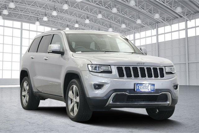 Used Jeep Grand Cherokee WK MY17 Limited, 2017 Jeep Grand Cherokee WK MY17 Limited Silver 8 Speed Sports Automatic Wagon
