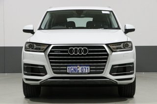 2018 Audi Q7 4M MY18 3.0 TDI Quattro (160kW) Glacier White 8 Speed Automatic Tiptronic Wagon.