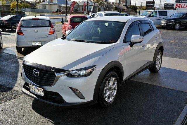 Used Mazda CX-3 DK Maxx (FWD), 2015 Mazda CX-3 DK Maxx (FWD) White 6 Speed Automatic Wagon