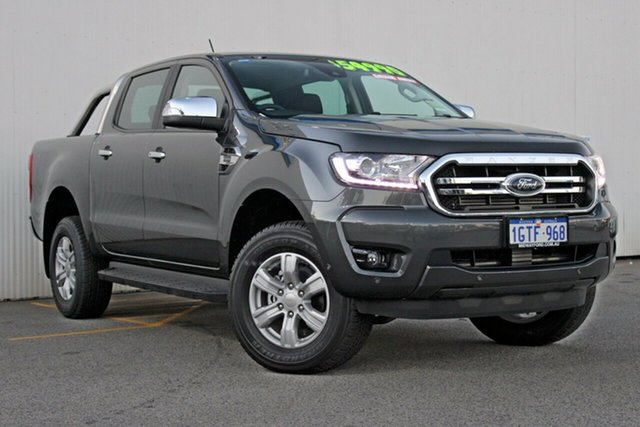 Demo Ford Ranger  XLT Pick-up Double Cab, 2018 Ford Ranger PX MKIII 2019.0 XLT Pick-up Double Cab Magnetic Grey 10 Speed Sports Automatic