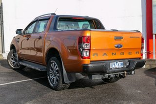 2016 Ford Ranger PX MkII Wildtrak Double Cab Orange 6 Speed Sports Automatic Utility