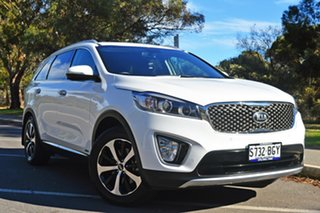 2015 Kia Sorento UM MY15 SLi AWD White 6 Speed Sports Automatic Wagon.
